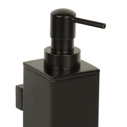 Wall mounted brass soap dispenser