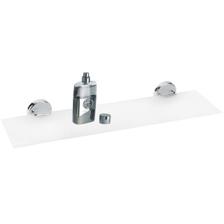 Llat shelf 55 cm. (22) WHITE