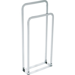 Freestanding towel rail Ref.900 MATTE CHROME