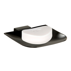 Wall mounted brass soap dish