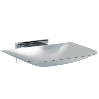 Wall mounted brass soap dish  CHROME