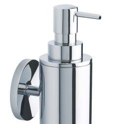 Wall soap dispenser (brass)