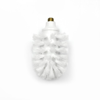 Brush for a glass toilet brush WITHOUT COLOUR