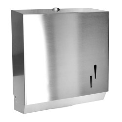 Pulished Stainless towel dispenser