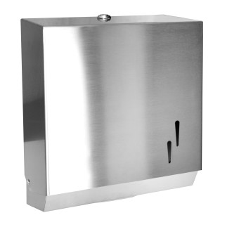 Pulished Stainless towel dispenser POLISHED STAINLESS STEEL