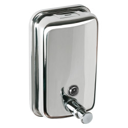 Pulished Stainless soap dispenser