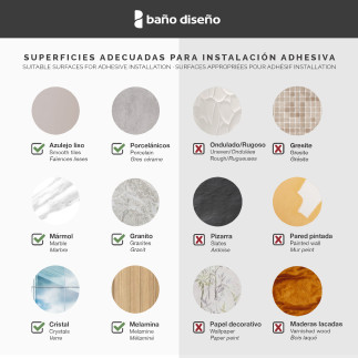 Jabonera pared laton  BLANCO