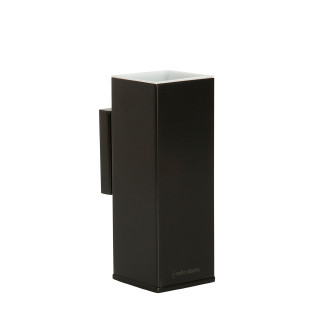 Wall mounted brass tooth brush holder  BLACK