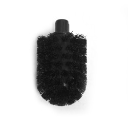 Black brush for toilet brush holder, WC5-WC6-WC10-WC11