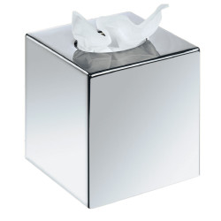 Square tissue dispenser