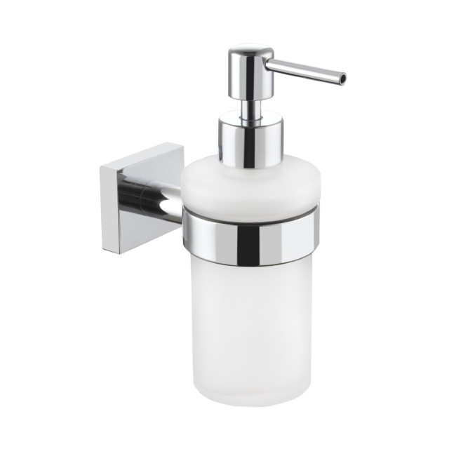 Wall Mounted Glass Soap Dispenser Rex Collection