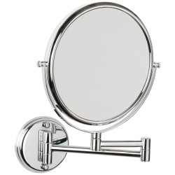 Magnifying mirror x5, 2 sides 2 arms