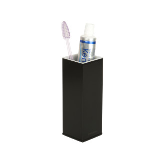 Countertop brass tooth brush holder nº25  BLACK