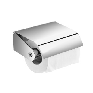 Paper holder with cover nº5  CHROME