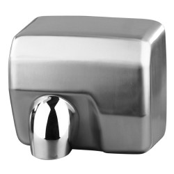 Satin Stainless hand dryer