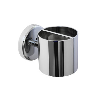 Hair styling iron holder (without hair styling iron) CHROME